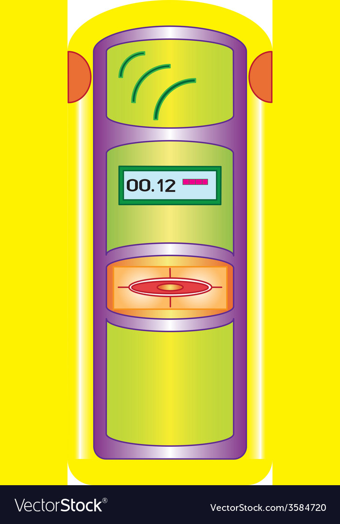 Geiger counter vector | Price: 1 Credit (USD $1)