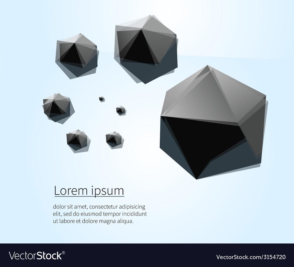 Sea black vector | Price: 1 Credit (USD $1)