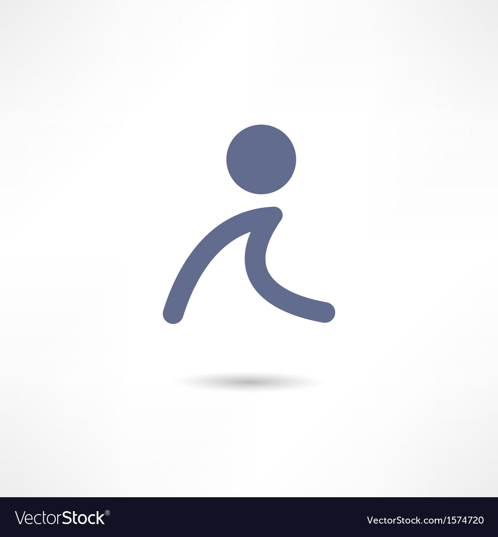 Walk icon vector | Price: 1 Credit (USD $1)