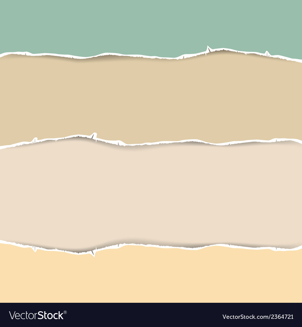 Torn paper abstract in pastel colors vector | Price: 1 Credit (USD $1)