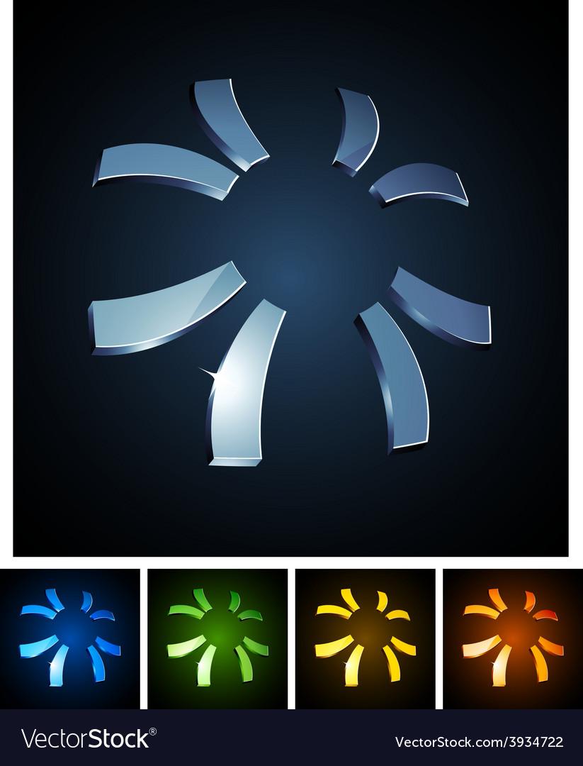 3d sun emblems vector   Price: 1 Credit (USD $1)