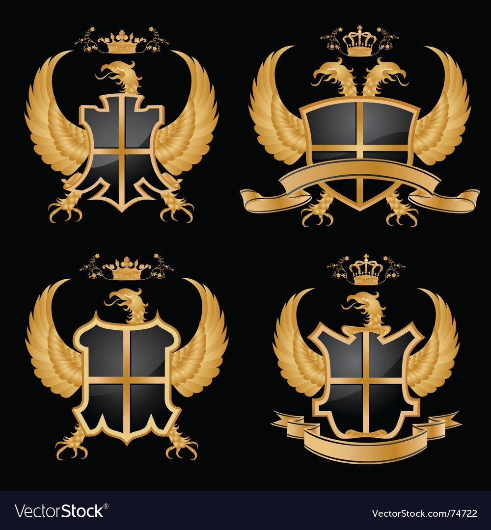 Coat of arms vector | Price: 1 Credit (USD $1)