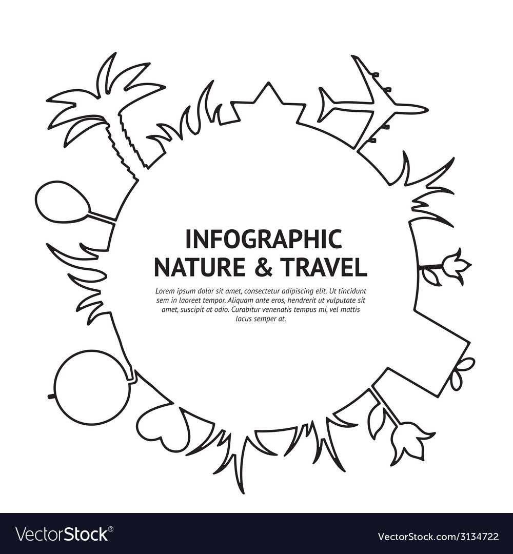 Travel and tourism vector | Price: 1 Credit (USD $1)