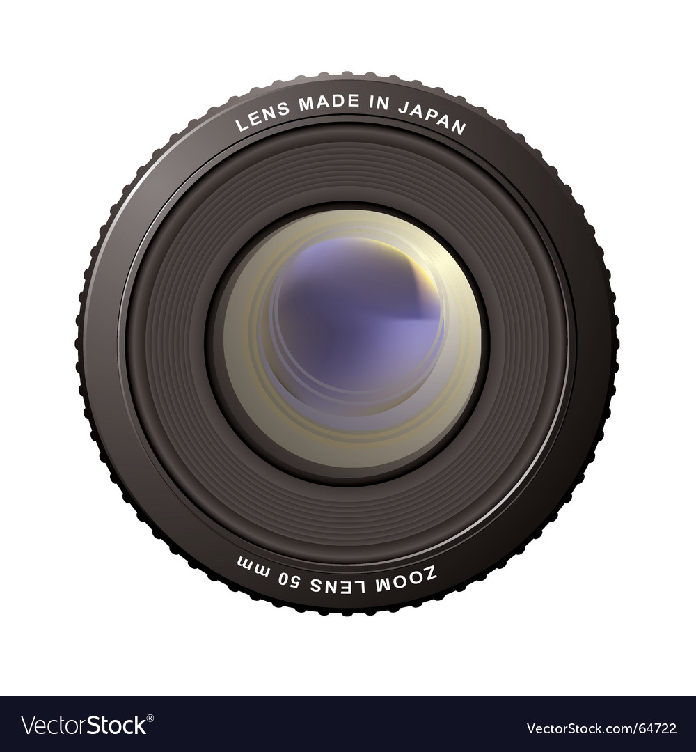 Zoom lens vector | Price: 1 Credit (USD $1)