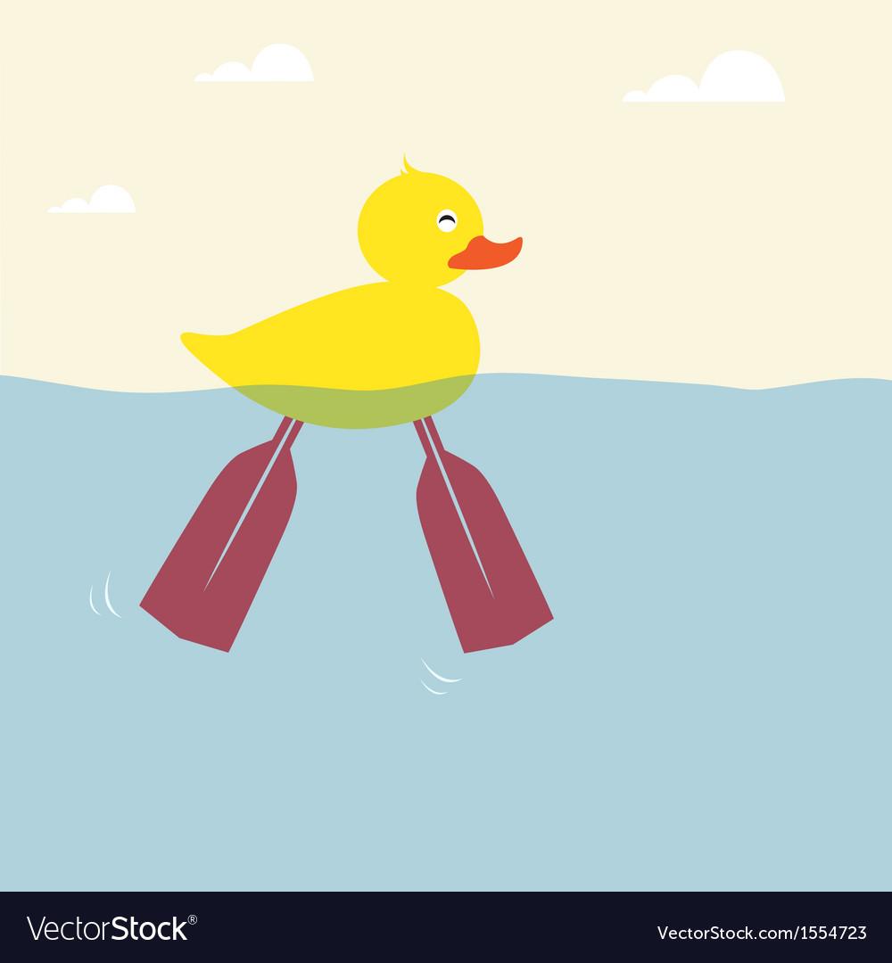 Duckling vector | Price: 1 Credit (USD $1)