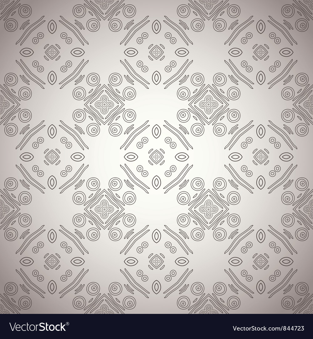 Ethnic ornamental pattern vector | Price: 1 Credit (USD $1)
