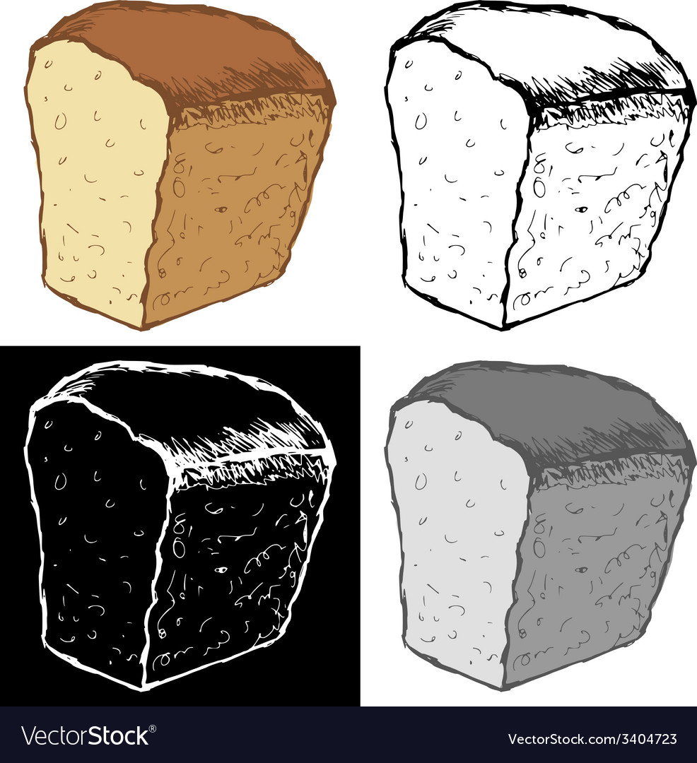 Loaf of bread vector | Price: 1 Credit (USD $1)