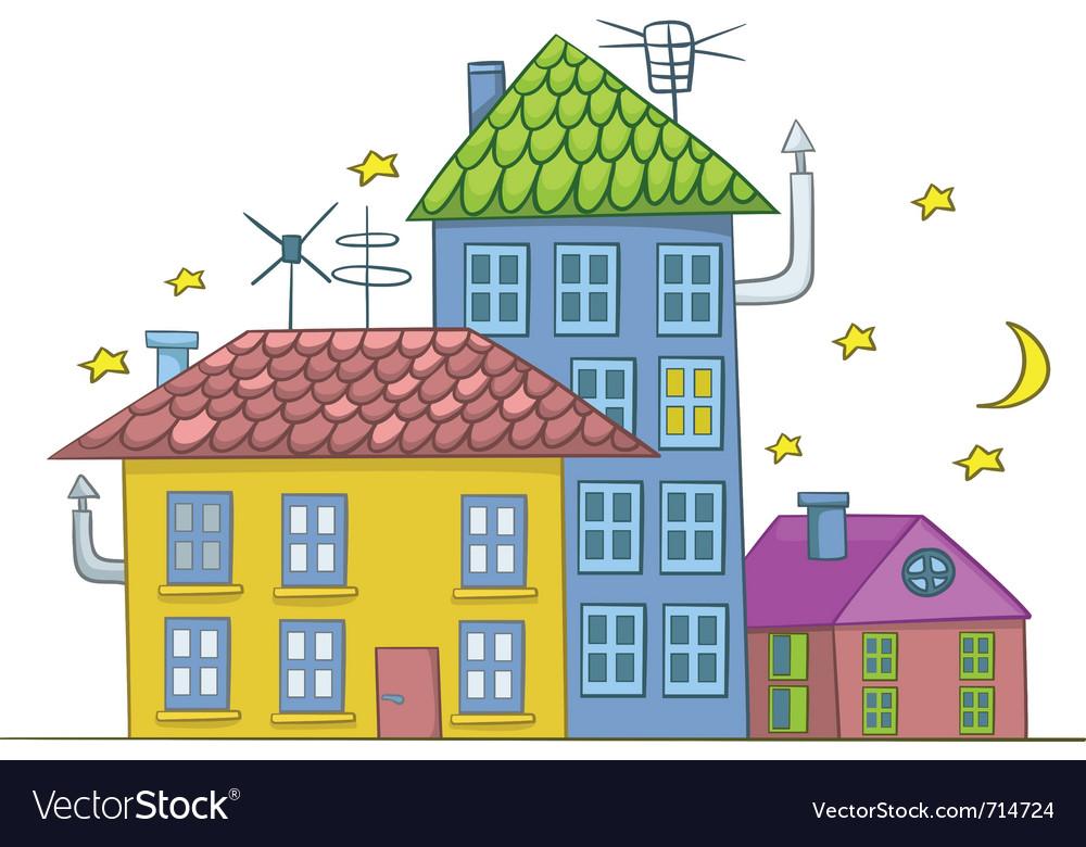 Cartoon house vector   Price: 1 Credit (USD $1)
