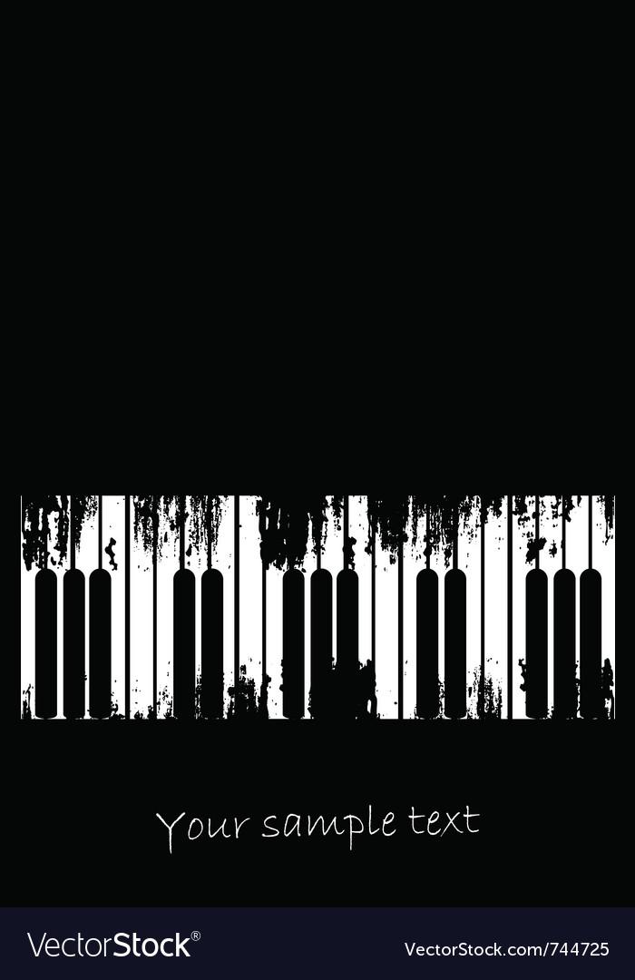 Grunge music design vector | Price: 1 Credit (USD $1)