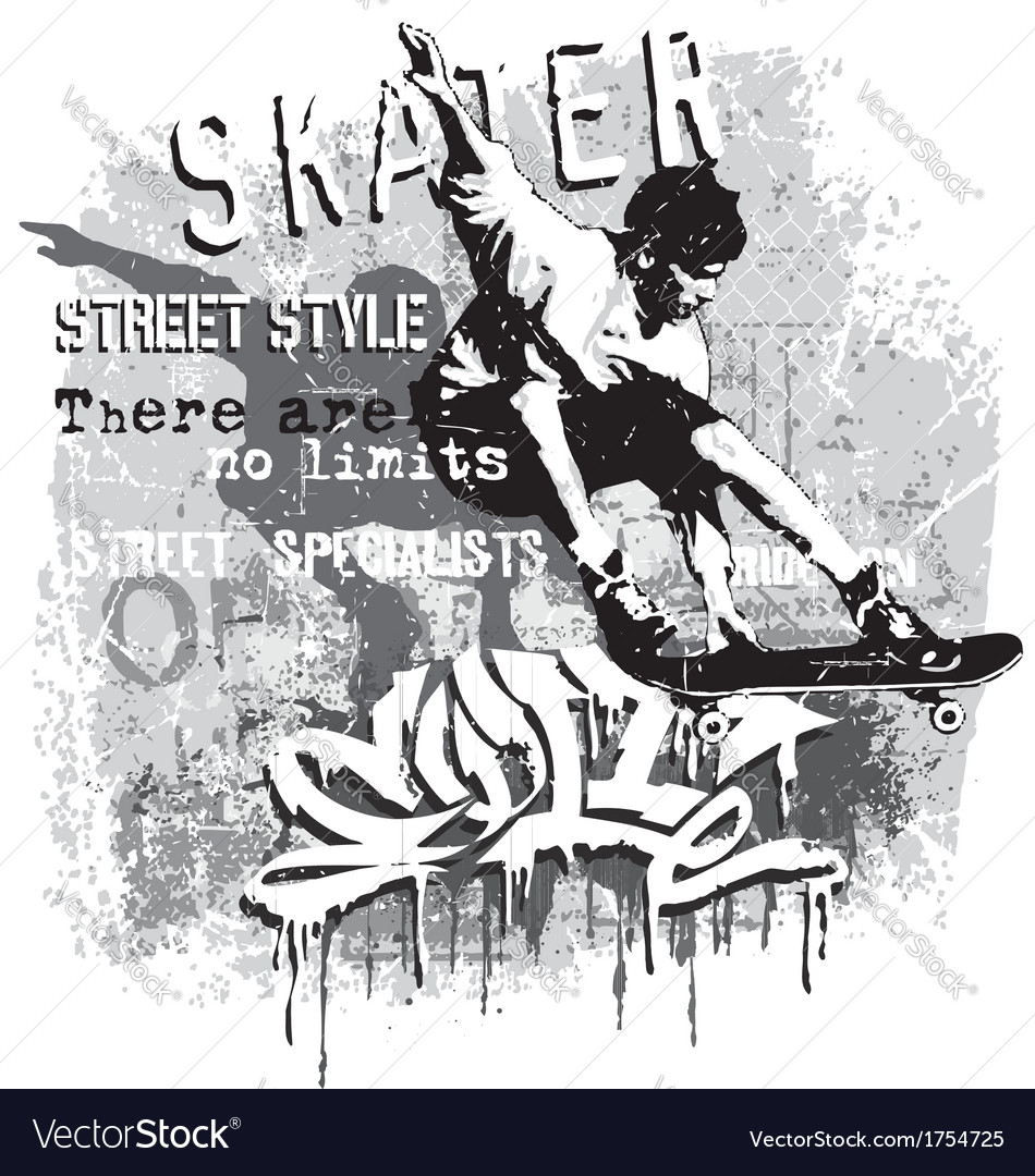 Skater no limit vector | Price: 1 Credit (USD $1)