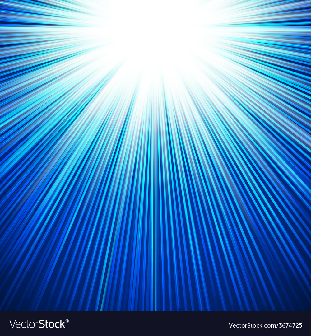 Winter sun shiny cool blue background vector | Price: 1 Credit (USD $1)