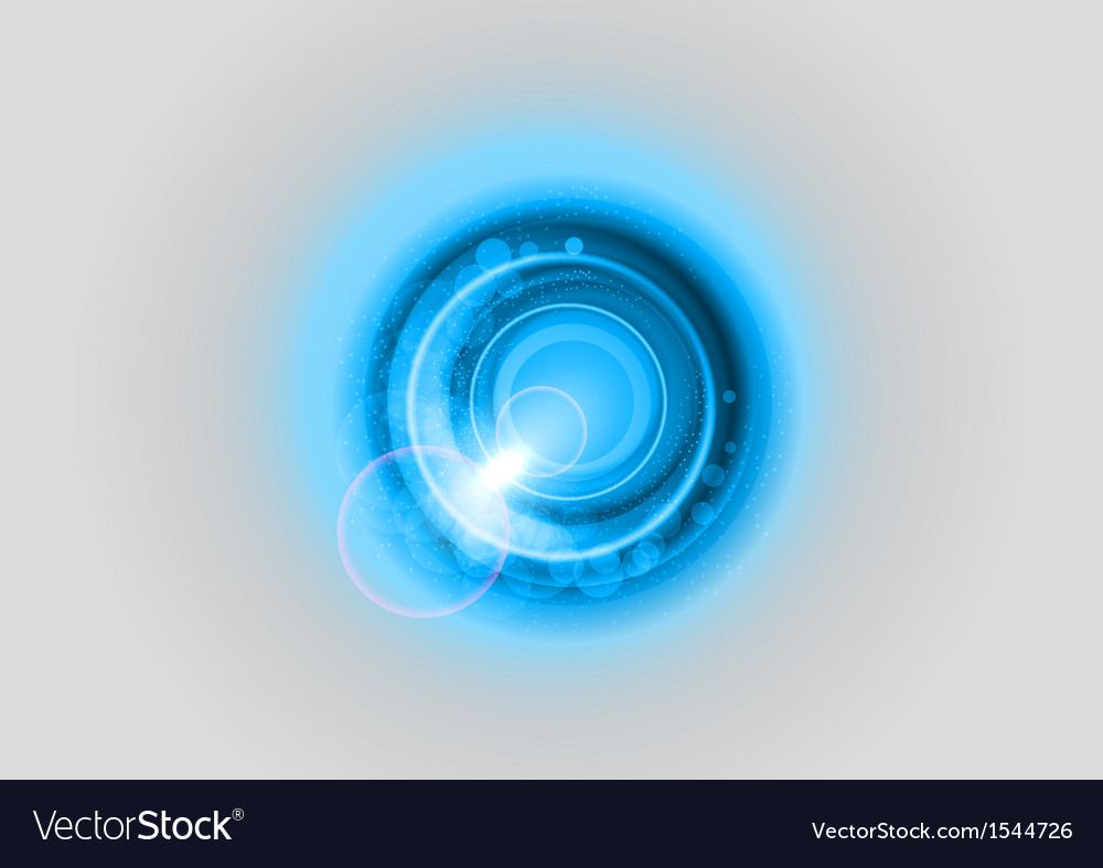 Background blue light center grey vector | Price: 1 Credit (USD $1)