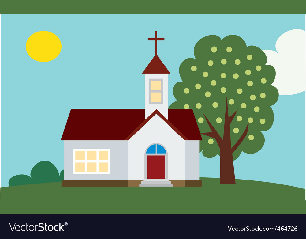 Church background vector | Price: 1 Credit (USD $1)