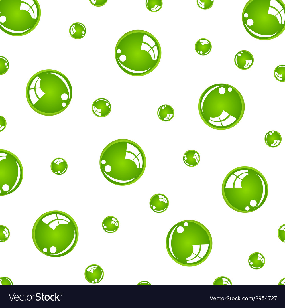 Crystal green balls vector | Price: 1 Credit (USD $1)