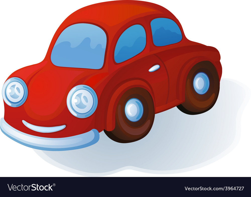 Toy car vector | Price: 1 Credit (USD $1)