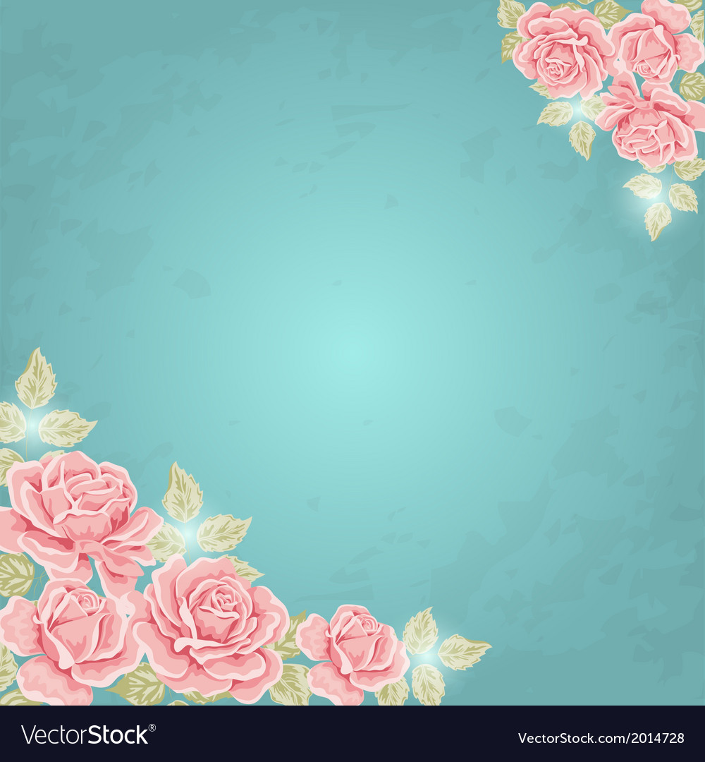 Background with roses vector | Price: 1 Credit (USD $1)