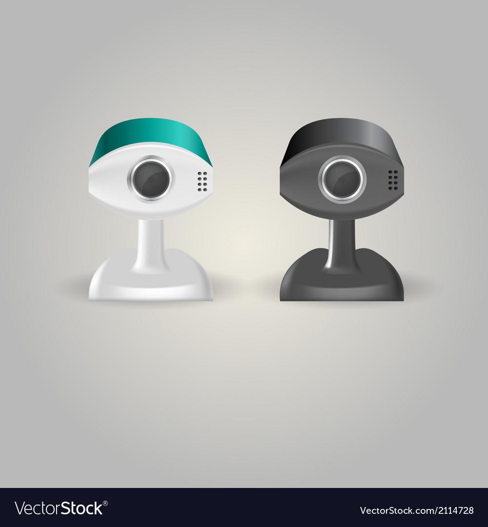 Surveillance cameras vector | Price: 1 Credit (USD $1)