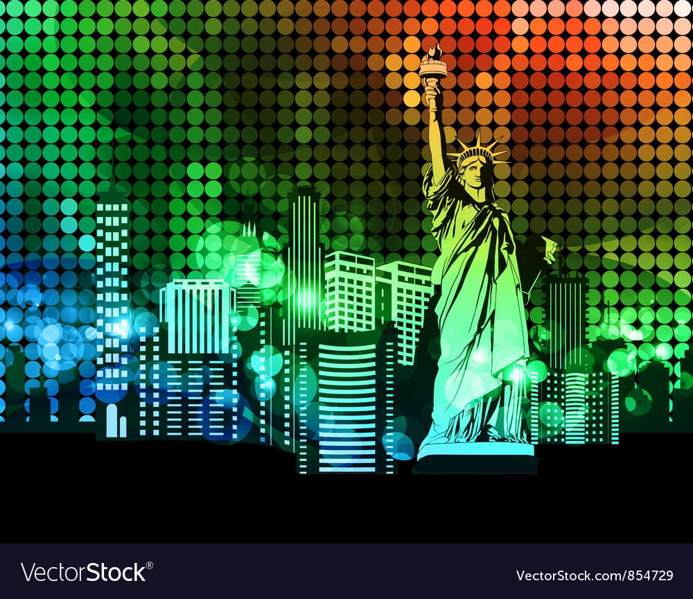 Colorful urban vector | Price: 1 Credit (USD $1)