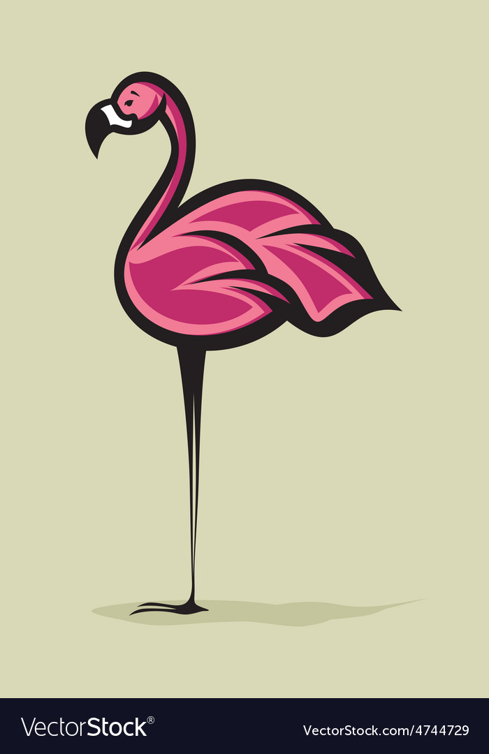 Flamingo2 resize vector | Price: 1 Credit (USD $1)