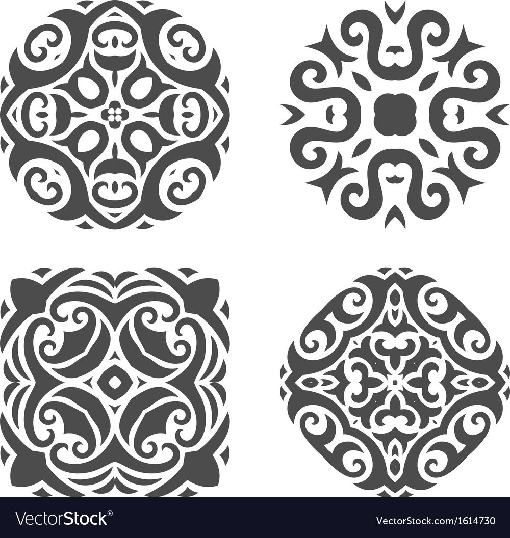 Abstract mehndi ornament - vector | Price: 1 Credit (USD $1)