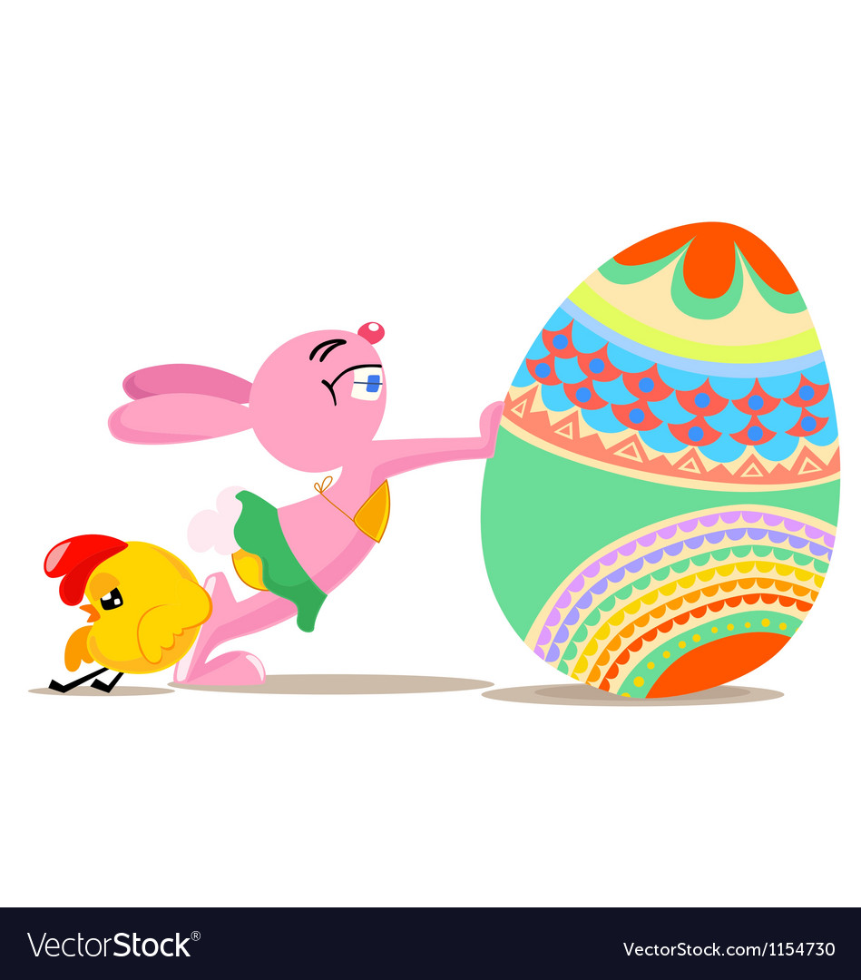 Easter funny vector | Price: 1 Credit (USD $1)