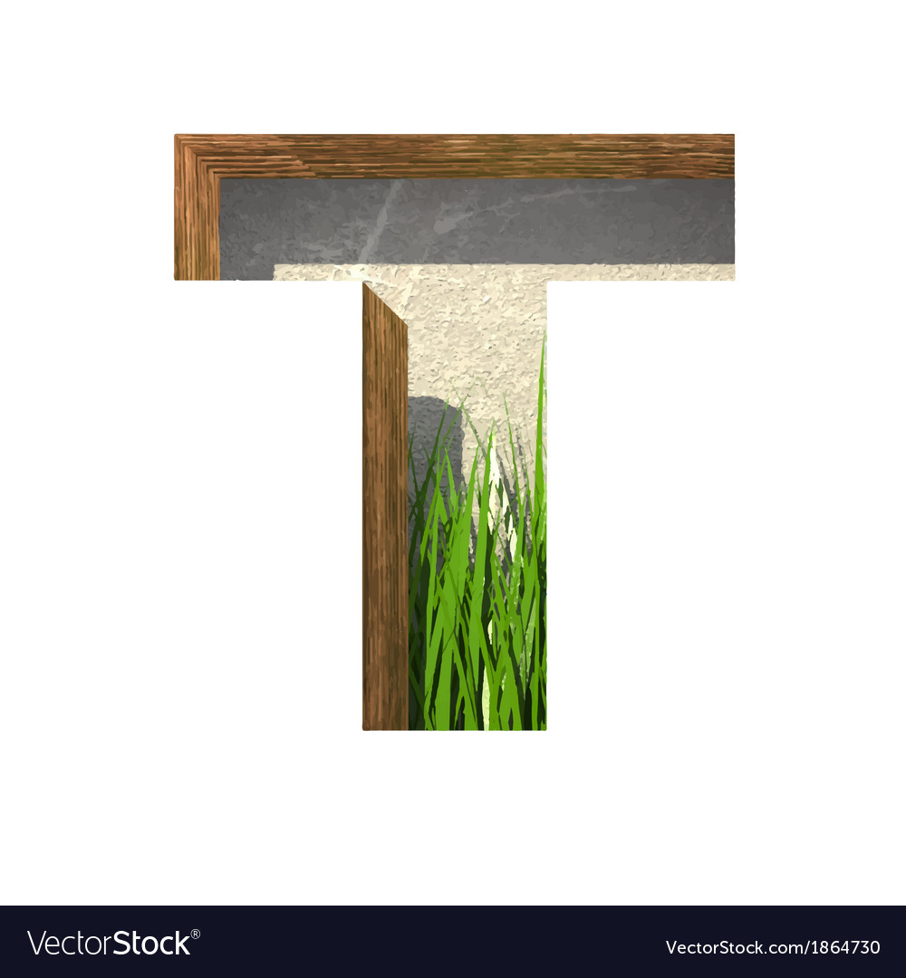 Grass cutted figure t paste to any background vector | Price: 1 Credit (USD $1)