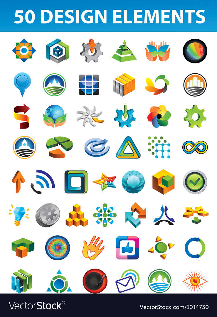 Signs and symbols for your corporate identity vector | Price: 1 Credit (USD $1)