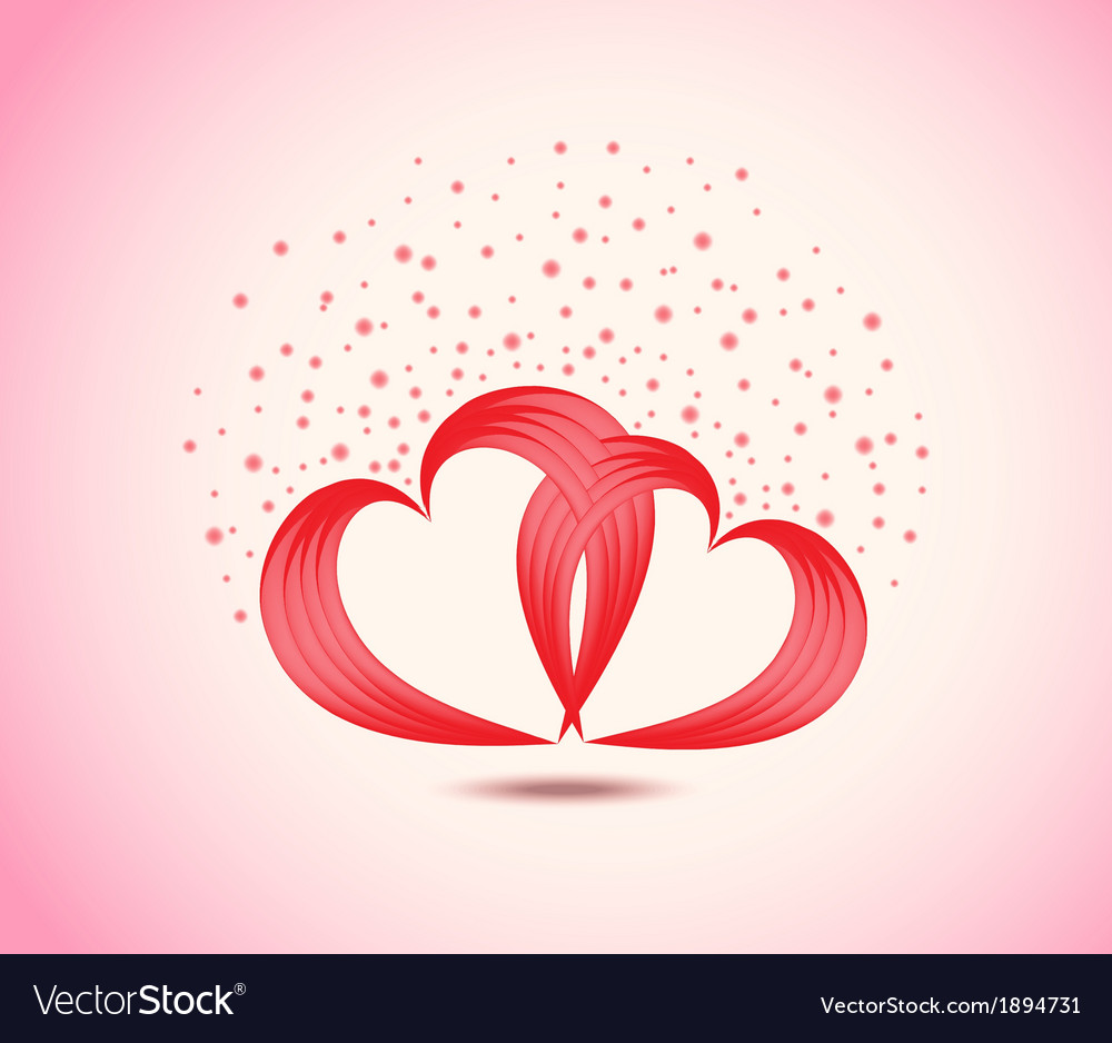 Background of pair of valentine vector | Price: 1 Credit (USD $1)