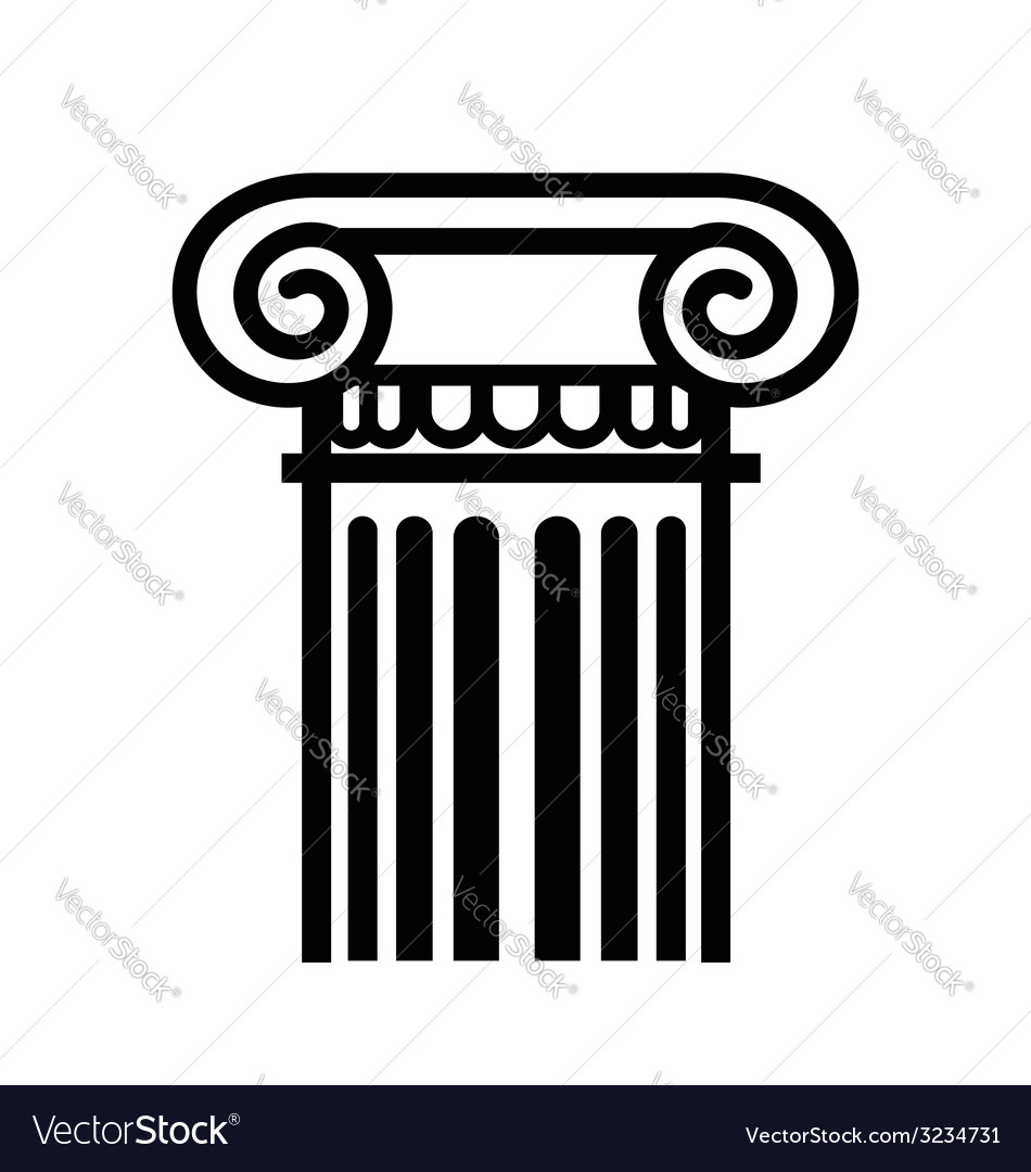 Column icon vector | Price: 1 Credit (USD $1)