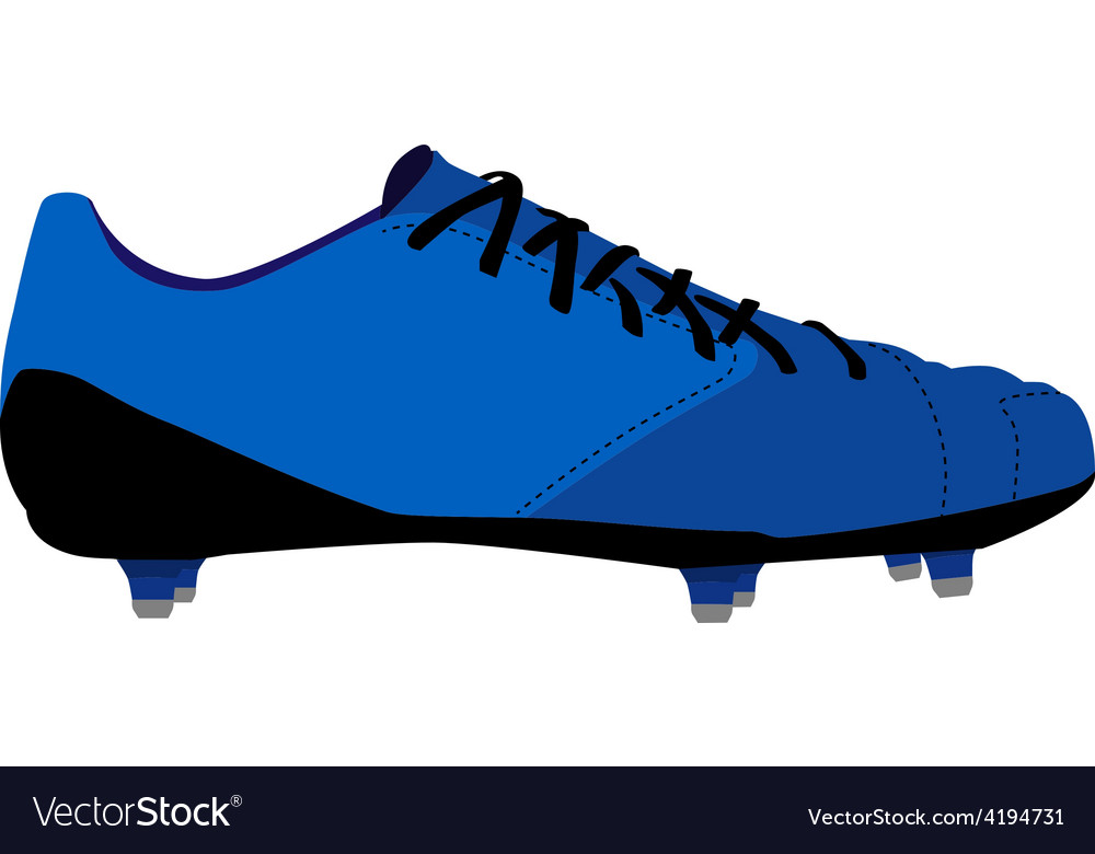 Football shoe vector | Price: 1 Credit (USD $1)