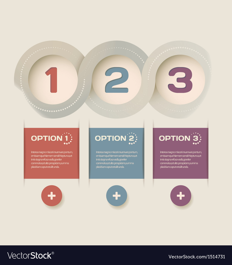 Modern abstract infographic design vector | Price: 1 Credit (USD $1)