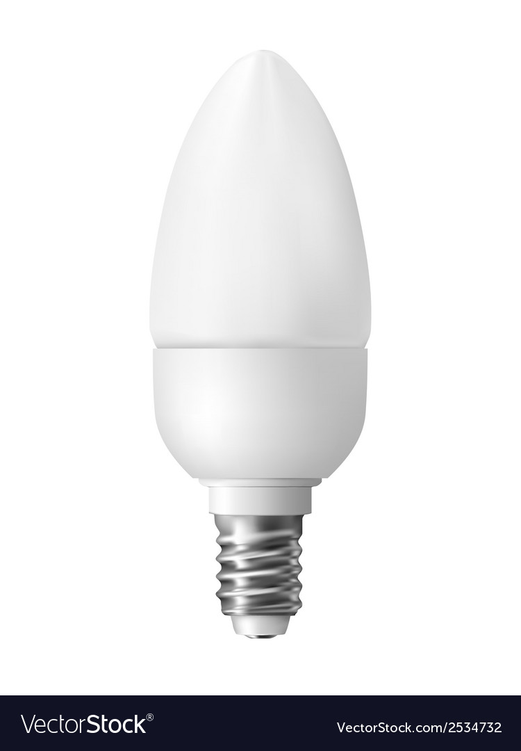 Energy efficient light bulb vector | Price: 1 Credit (USD $1)