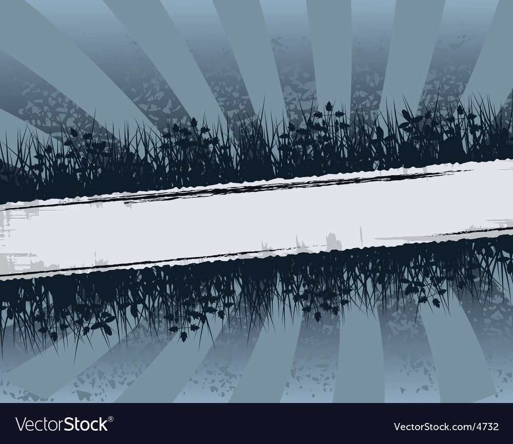 Fringed banner vector | Price: 1 Credit (USD $1)