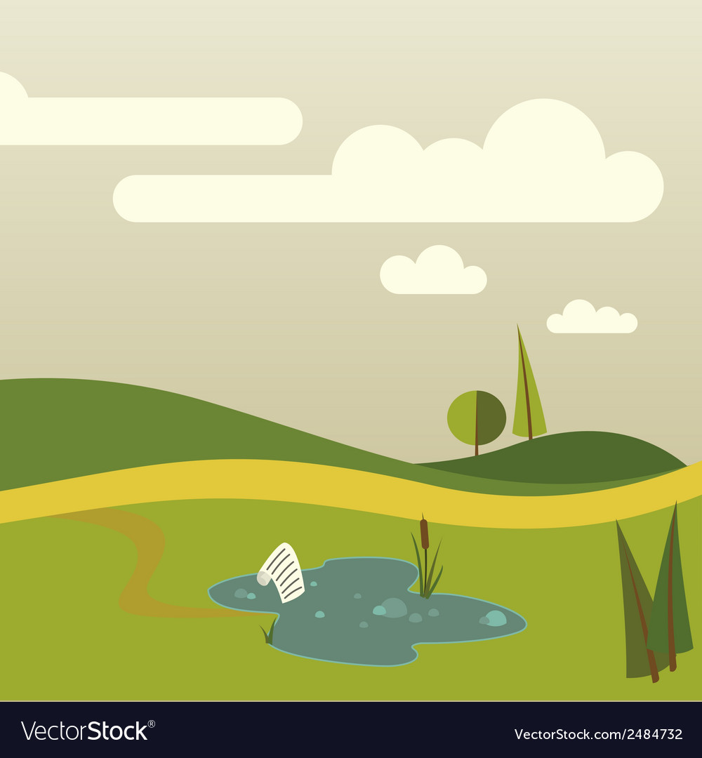 Nature part two vector | Price: 1 Credit (USD $1)