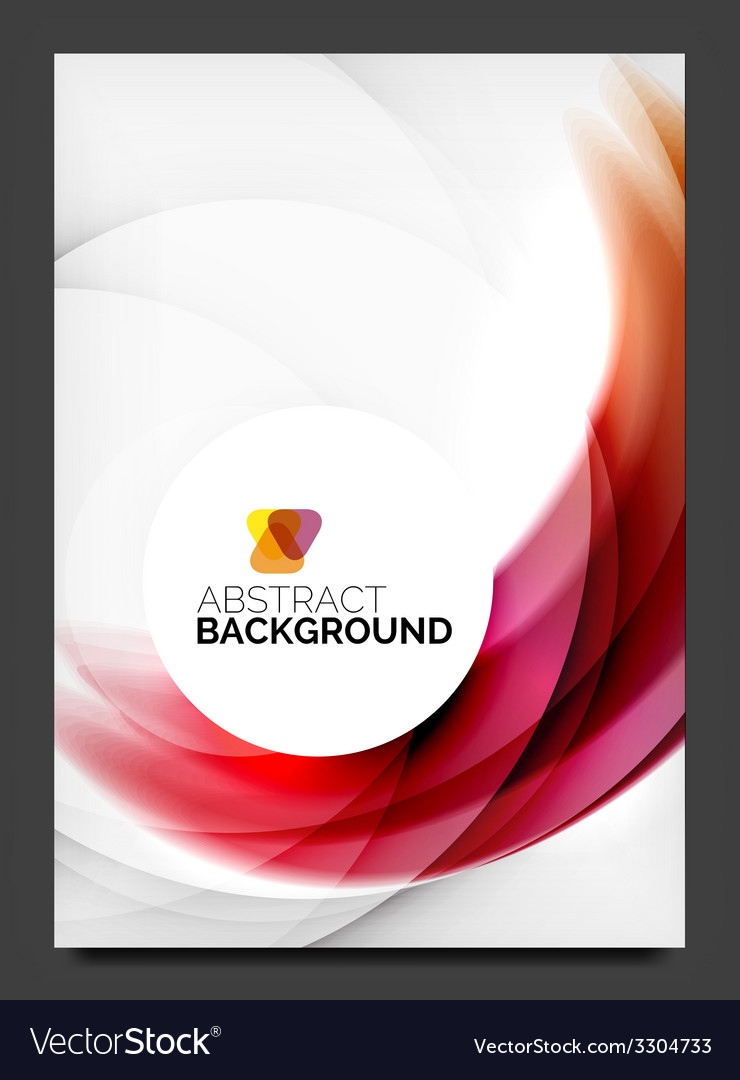 Abstract modern flyer - brochure template vector   Price: 1 Credit (USD $1)