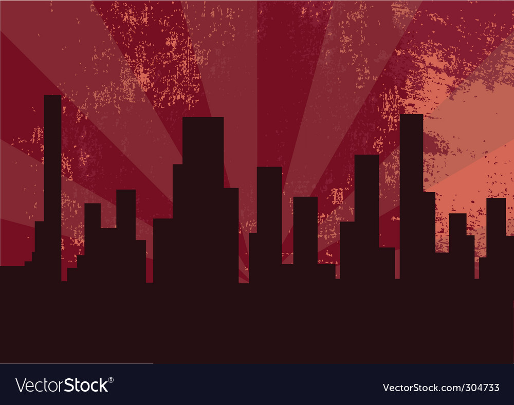 City at the night vector | Price: 1 Credit (USD $1)