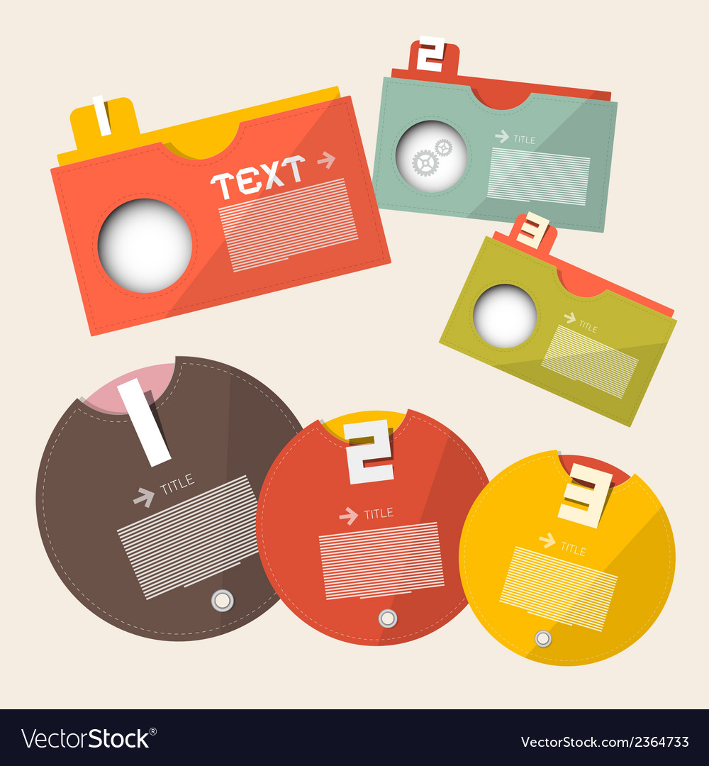 Infographics design - labels template vector | Price: 1 Credit (USD $1)