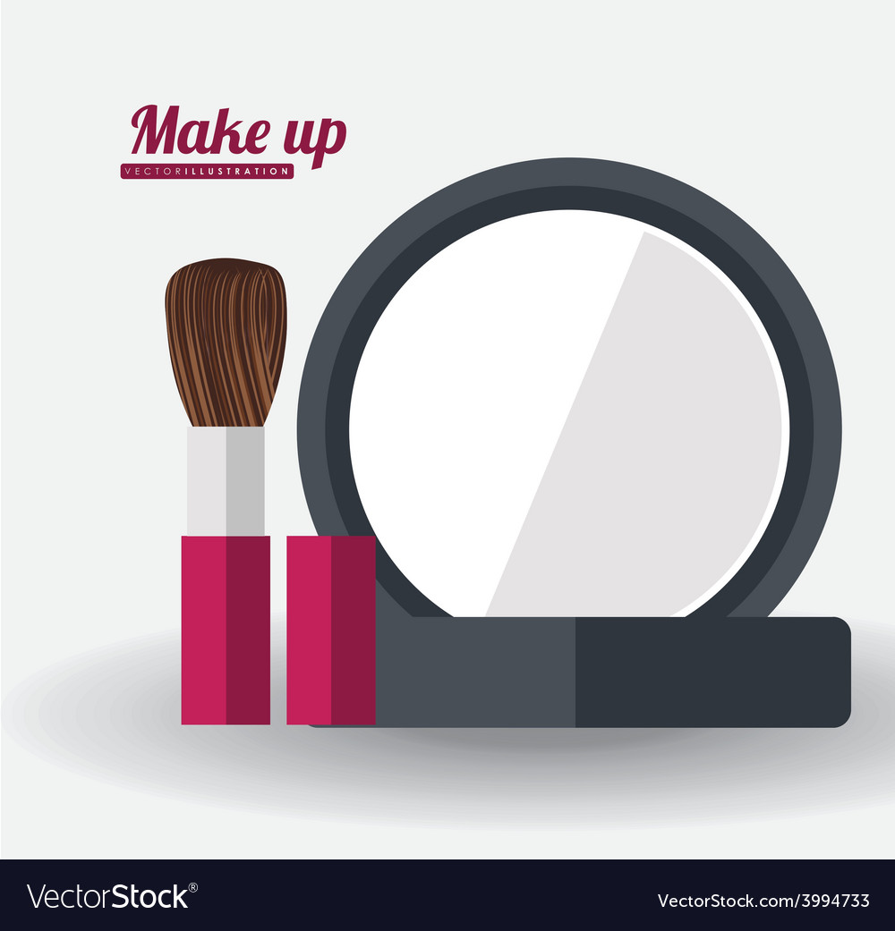 Make up desing ilustration vector | Price: 1 Credit (USD $1)