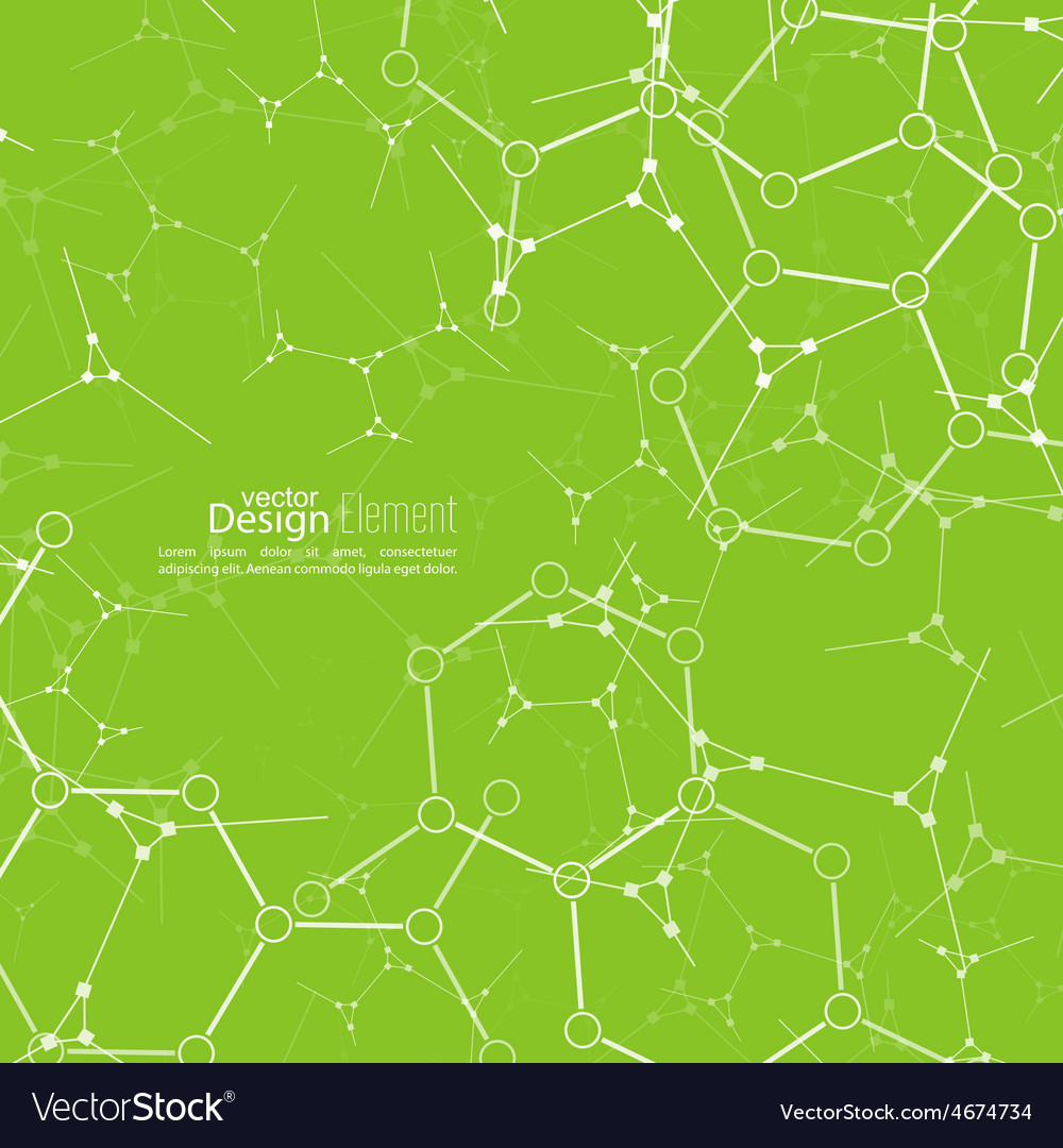 Abstract background with dna strand vector | Price: 1 Credit (USD $1)