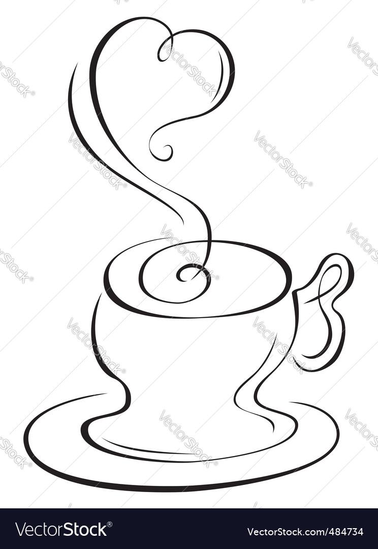 Hot cup vector | Price: 1 Credit (USD $1)