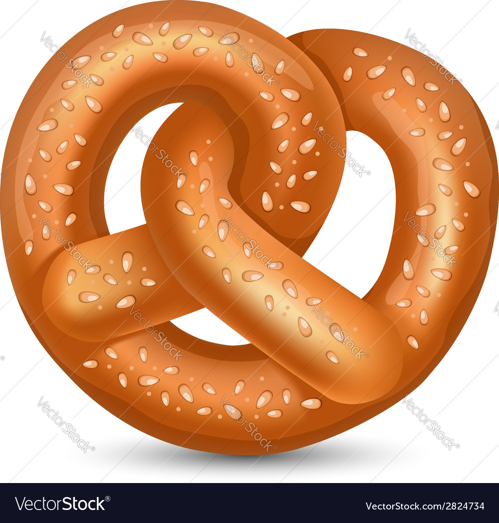 Pretzel vector | Price: 1 Credit (USD $1)