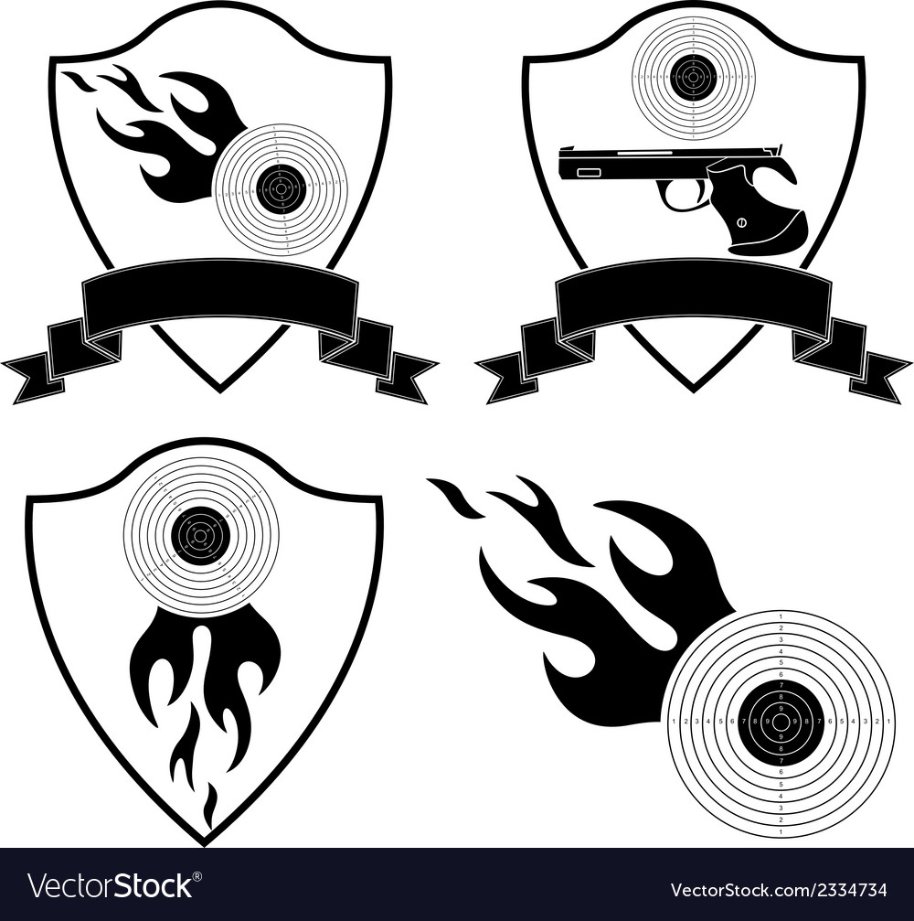Sports shooting vector | Price: 1 Credit (USD $1)
