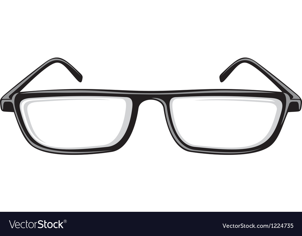 Reading glasses vector | Price: 1 Credit (USD $1)