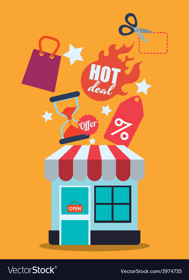 Sales and retail vector   Price: 1 Credit (USD $1)