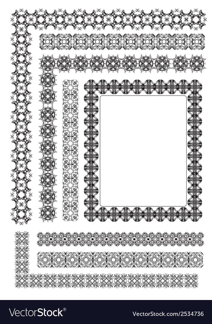Al 0513 ornaments vector | Price: 1 Credit (USD $1)