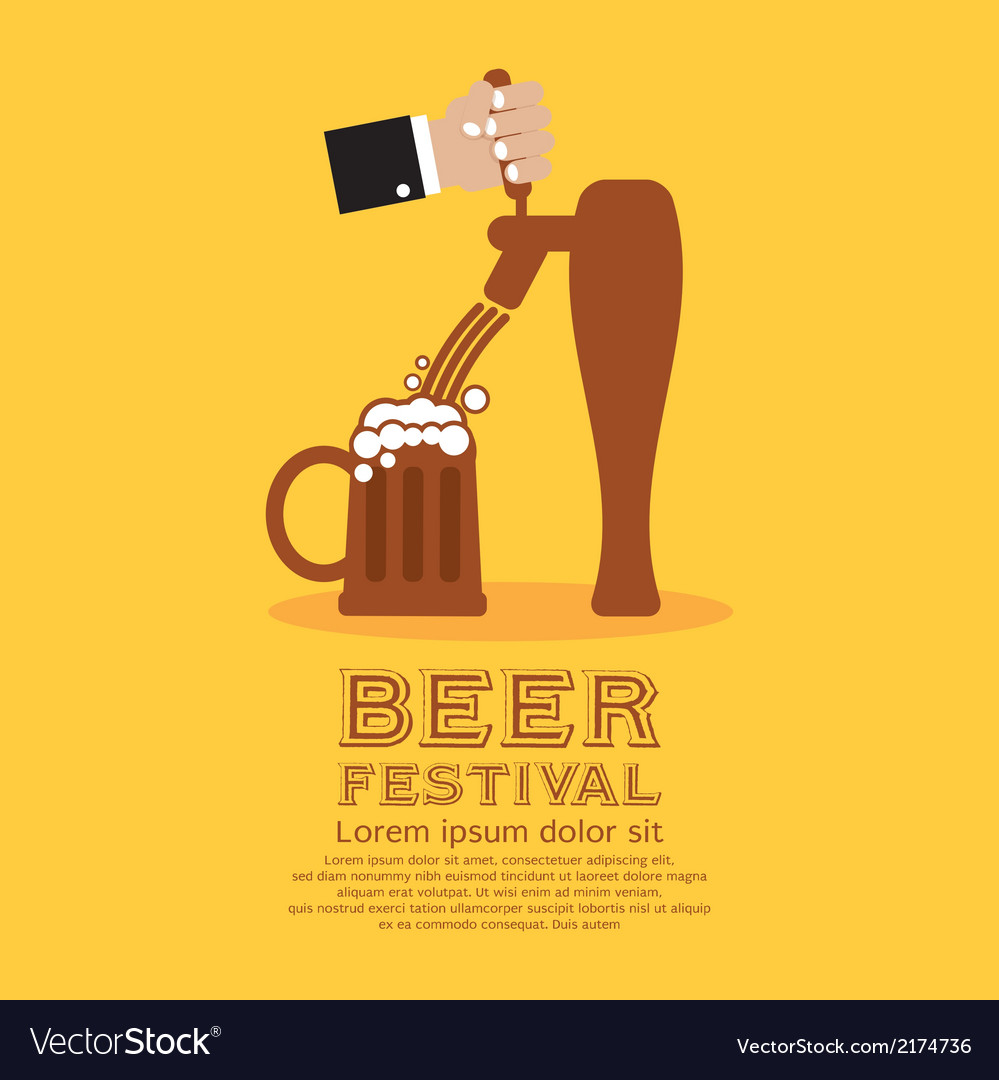 Beer festival vector | Price: 1 Credit (USD $1)