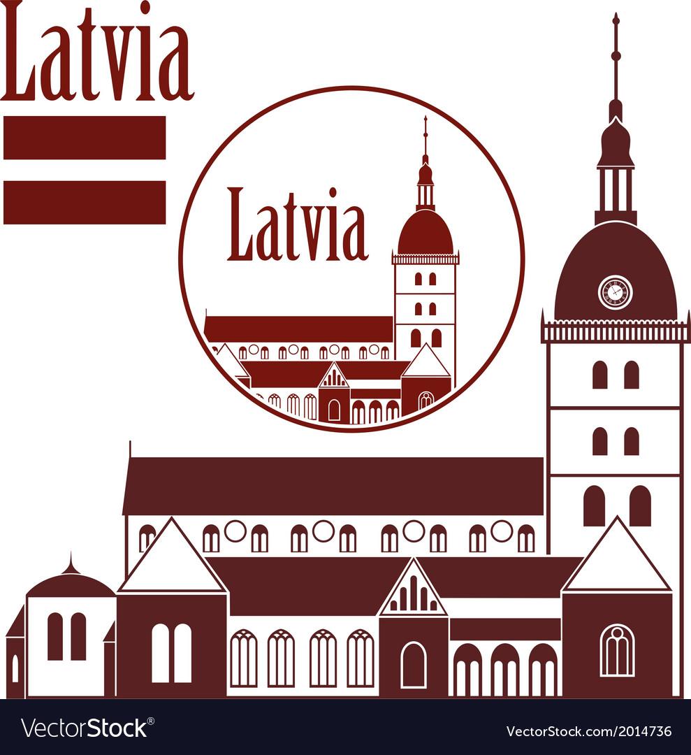 Latvia vector | Price: 1 Credit (USD $1)