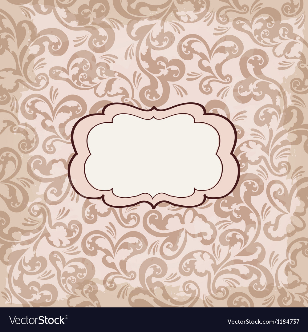 Romantic card invitation for wedding vector | Price: 1 Credit (USD $1)