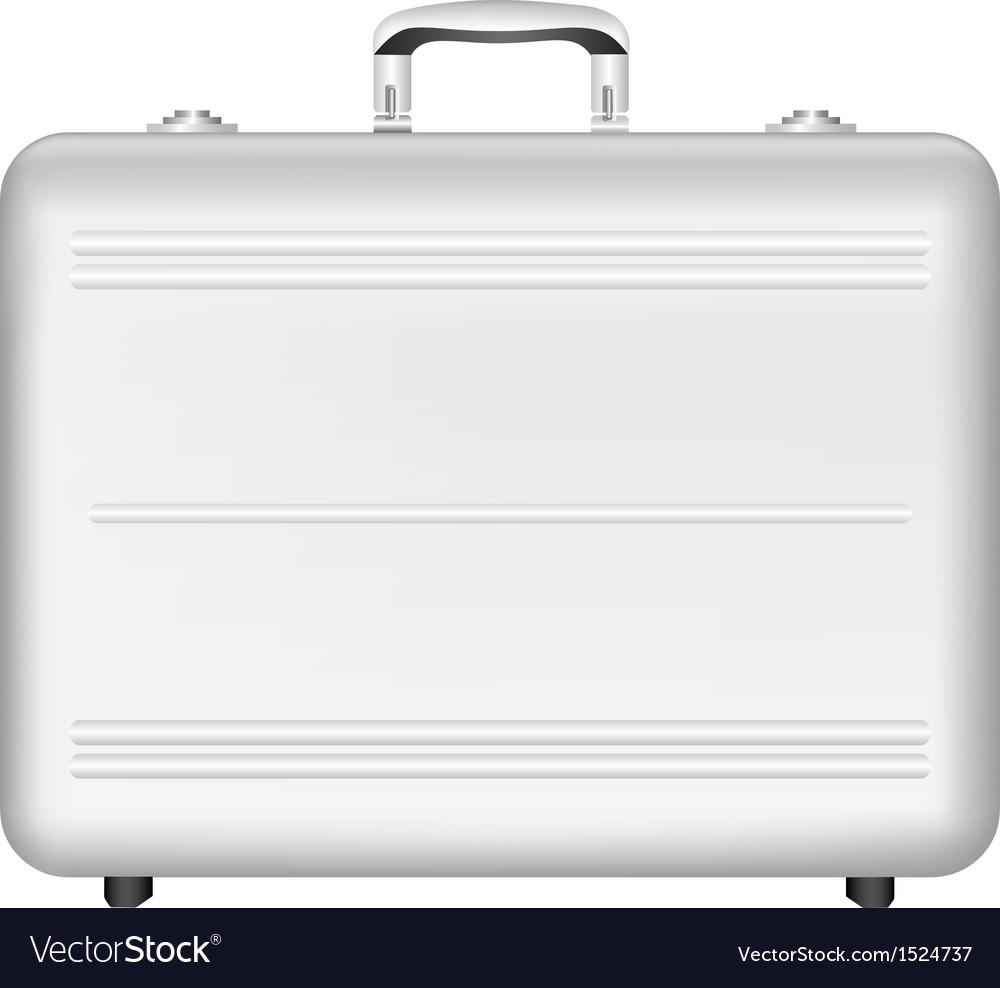 Silver briefcase vector | Price: 1 Credit (USD $1)