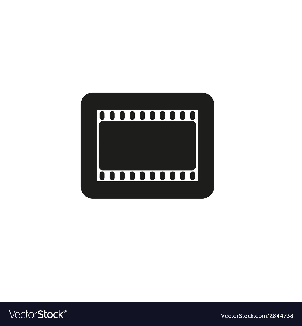 Cinema sign movie theater logo vector | Price: 1 Credit (USD $1)